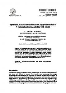 Synthesis, Characterization and Copolymerization of N