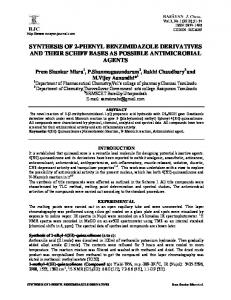 synthesis of 2-phenyl benzimidazole derivatives and their schiff bases ...