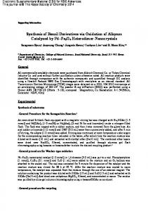 Synthesis of Benzil Derivatives via Oxidation of Alkynes Catalyzed by ...