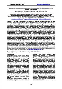 synthesis of certain indole-2-carboxylate derivatives of biological interest