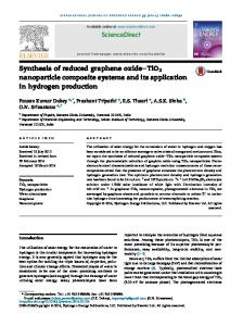 Synthesis of reduced graphene oxide-TiO2 ...