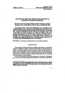 synthesis of some diol derivatives as potential reagents in ... - doiSerbia