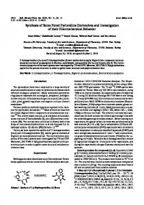 Synthesis of Some Novel Pyrimidine Derivatives and ...
