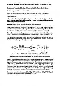Synthesis of Sterically Hindered Fluorous Aryl ... - Fluorine notes