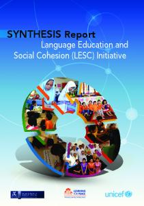 Synthesis Report: Language Education and Social Cohesion - Unicef
