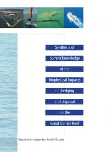 Synthesis Report on Effects of Dredging on the ... - GBRMPA ELibrary
