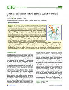 Systematic Dissociation Pathway Searches Guided ... - ACS Publications