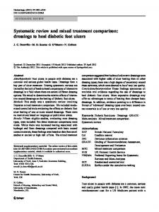 Systematic review and mixed treatment comparison ... - BioMedSearch