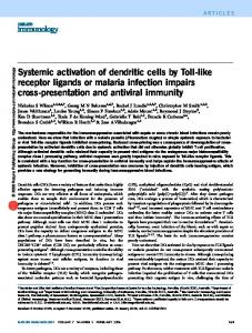 Systemic activation of dendritic cells by Toll-like receptor ... - Nature