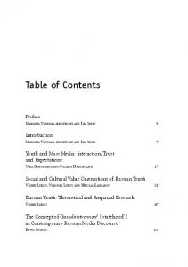 Table of Contents - Helsinki.fi