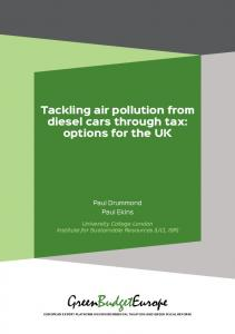 Tackling air pollution from diesel cars through tax - Green Budget ...