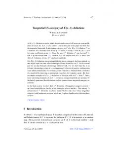 Tangential LS--category of K(,1)--foliations