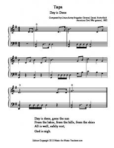 Taps - Free Sheet Music for Teachers of Piano, Voice, and ...