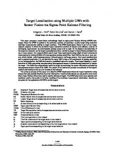 Target Localization using Multiple UAVs with ... - Semantic Scholar