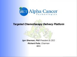Targeted Chemotherapy Delivery Platform