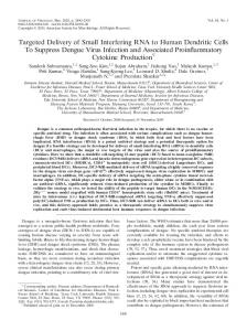 Targeted Delivery of Small Interfering RNA to ... - Journal of Virology