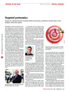 Targeted proteomics - Semantic Scholar
