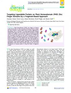 Targeting Ligandable Pockets on Plant ... - ACS Publications