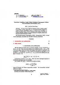 Tauberian Conditions Under Which Statistical Convergence Follows