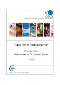 Tax Compliance and Tax Accounting Systems
