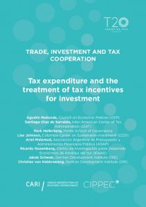 Tax expenditure and the treatment of tax incentives for ... - T20 Argentina