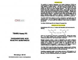 TBARS Assay Kit - Bric