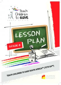 TCTS Lesson Plan Grade 8 print.pdf - The South African Savings ...