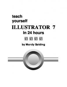 Teach Yourself Illustrator in 24 Hours