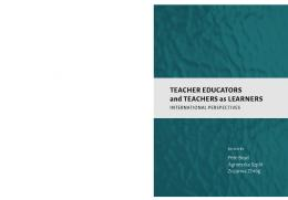 Teacher educators and teachers as learners - Association for Teacher ...