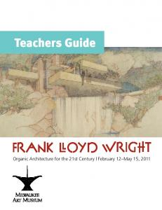 Teachers Guide - Milwaukee Art Museum