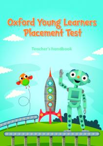 Teacher's handbook - Oxford Online Placement Test