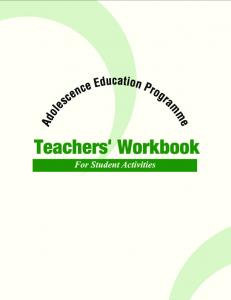 Teachers' Workbook - Central Board of Secondary Education
