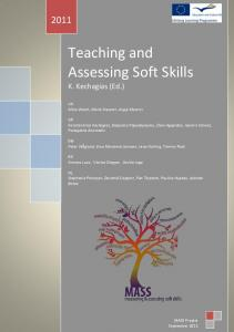 Teaching and Assessing Soft Skills - Soft Skills NESSIE project