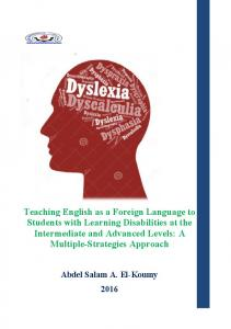 Teaching English as a Foreign Language to Students ...