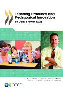 Teaching PracTices and Pedagogical innovaTion: evidence - OECD