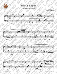 Tears in Heaven Sheet Music - Fariborz Lachini