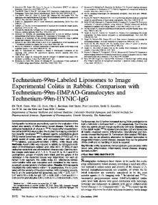 Technetium-99m-Labeled Liposomes to Image Experimental Colitis in ...
