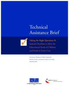 Technical Assistance Brief