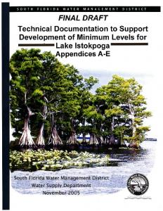 Technical Documentation to Support Development of ...