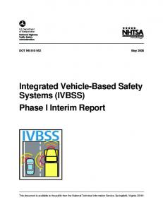 Technical Report Documentation Page