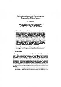 Technical requirements for Electromagnetic