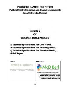 Technical Specifications (Vol 2)