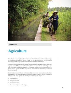 Technologies to Support Climate Change Adaptation ...