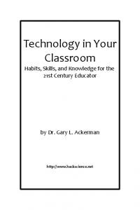 Technology in Your Classroom