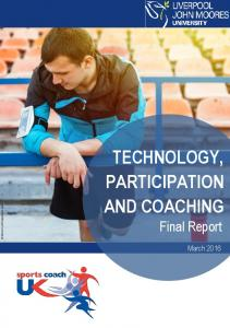 technology, participation and coaching
