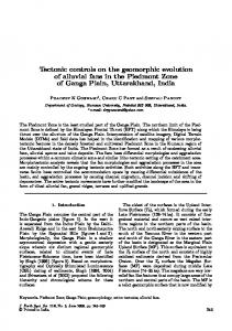 Tectonic controls on the geomorphic evolution of ... - Springer Link