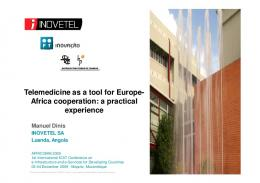 Telemedicine as a tool for Europe- Africa cooperation ...