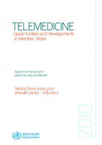 TELEMEDICINE - World Health Organization