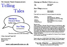 telling tales - The Unknown Theatre Company