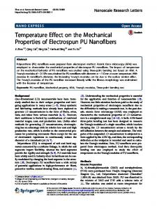 Temperature Effect on the Mechanical Properties of
